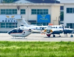 ザキヤマさんが、熊本空港で撮影した海上自衛隊 TH-135の航空フォト(写真)