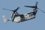 isiさんが、厚木飛行場で撮影したアメリカ海兵隊 MV-22Bの航空フォト(写真)