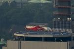 あきらっすさんが、総務省消防庁屋上ヘリポートで撮影した埼玉県防災航空隊 AW139の航空フォト(写真)