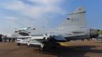 ちゃぽんさんが、フェアフォード空軍基地で撮影したスウェーデン空軍 JAS39Dの航空フォト(飛行機 写真・画像)