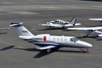 Gambardierさんが、岡南飛行場で撮影したジャプコン 525 Citation M2の航空フォト(写真)