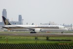 レドームさんが、成田国際空港で撮影したシンガポール航空 787-10の航空フォト(写真)