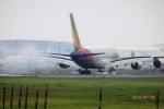 レドームさんが、成田国際空港で撮影したアシアナ航空 A380-841の航空フォト(写真)