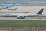 mototripさんが、仁川国際空港で撮影したルフトハンザドイツ航空 A340-642Xの航空フォト(写真)