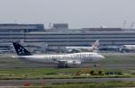 ぷぅぷぅまるさんが、羽田空港で撮影したタイ国際航空 747-4D7の航空フォト(写真)
