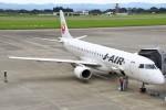 masa707さんが、鹿児島空港で撮影したジェイ・エア ERJ-190-100(ERJ-190STD)の航空フォト(写真)