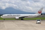 masa707さんが、鹿児島空港で撮影した日本航空 767-346/ERの航空フォト(写真)