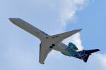 gomaさんが、ミュンヘン・フランツヨーゼフシュトラウス空港で撮影したノルディック・アヴィエーション CL-600-2C10 Regional Jet CRJ-701ERの航空フォト(写真)
