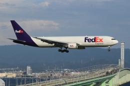 キイロイトリさんが、関西国際空港で撮影したフェデックス・エクスプレス 767-3S2F/ERの航空フォト(写真)