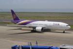 キイロイトリさんが、中部国際空港で撮影したタイ国際航空 777-2D7の航空フォト(写真)