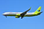 mojioさんが、成田国際空港で撮影したジンエアー 737-8SHの航空フォト(写真)