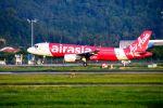 まいけるさんが、ペナン国際空港で撮影したエアアジア A320-216の航空フォト(写真)