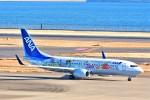 Hiro Satoさんが、羽田空港で撮影した全日空 737-881の航空フォト(写真)