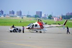 hidetsuguさんが、札幌飛行場で撮影した朝日航洋 AS350B3 Ecureuilの航空フォト(写真)