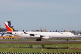 VEZEL 1500Xさんが、成田国際空港で撮影したフィリピン航空 A340-313Xの航空フォト(写真)