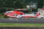 =JAかみんD=さんが、調布飛行場で撮影した静岡市消防航空隊 412EPの航空フォト(写真)