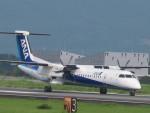 flyflygoさんが、熊本空港で撮影したANAウイングス DHC-8-402Q Dash 8の航空フォト(写真)