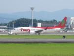 flyflygoさんが、熊本空港で撮影したティーウェイ航空 737-8ASの航空フォト(写真)