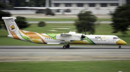 planetさんが、ドンムアン空港で撮影したノックエア DHC-8-402Q Dash 8の航空フォト(飛行機 写真・画像)