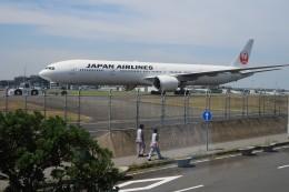 ☆ライダーさんが、羽田空港で撮影した日本航空 777-346/ERの航空フォト(写真)
