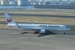 garrettさんが、羽田空港で撮影した日本航空 767-346/ERの航空フォト(写真)