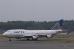 kikiさんが、成田国際空港で撮影したユナイテッド航空 747-422の航空フォト(写真)