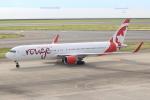 キイロイトリさんが、中部国際空港で撮影したエア・カナダ・ルージュ 767-33A/ERの航空フォト(写真)
