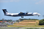 mojioさんが、成田国際空港で撮影したオーロラ DHC-8-402Q Dash 8の航空フォト(写真)