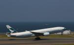 STAR TEAMさんが、中部国際空港で撮影したキャセイパシフィック航空 777-267の航空フォト(写真)