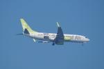 pringlesさんが、長崎空港で撮影したソラシド エア 737-81Dの航空フォト(写真)