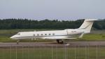 raichanさんが、成田国際空港で撮影したAviation Enterprises INC. G-V Gulfstream Vの航空フォト(写真)