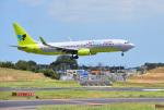 mojioさんが、成田国際空港で撮影したジンエアー 737-8Q8の航空フォト(写真)