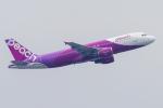 mameshibaさんが、香港国際空港で撮影したピーチ A320-214の航空フォト(写真)