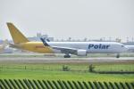 よしポンさんが、成田国際空港で撮影したポーラーエアカーゴ 767-3JHF(ER)の航空フォト(写真)
