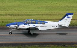 asuto_fさんが、大分空港で撮影した本田航空 58 Baronの航空フォト(飛行機 写真・画像)