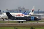 トールさんが、成田国際空港で撮影したウィルミントン BD-700 Global Express/5000/6000の航空フォト(写真)
