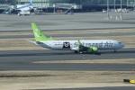 garrettさんが、羽田空港で撮影したソラシド エア 737-81Dの航空フォト(写真)