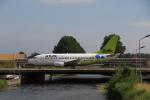 ケンジウムさんが、アムステルダム・スキポール国際空港で撮影したエア・バルティック 737-522の航空フォト(写真)