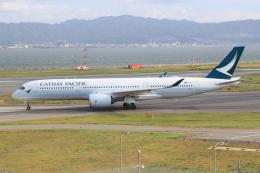キイロイトリさんが、関西国際空港で撮影したキャセイパシフィック航空 A350-941XWBの航空フォト(写真)