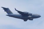 zettaishinさんが、ウェストオーバー予備役空軍基地で撮影したアメリカ空軍 C-17A Globemaster IIIの航空フォト(写真)