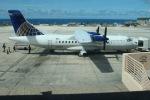 うたろうさんが、アントニオ・B・ウォン・パット国際空港で撮影したコンチネンタル・エキスプレス ATR-42-320の航空フォト(写真)