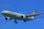 HISAHIさんが、福岡空港で撮影したエバー航空 A330-302の航空フォト(写真)