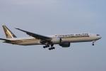 神宮寺ももさんが、成田国際空港で撮影したシンガポール航空 777-312/ERの航空フォト(写真)