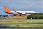 mojioさんが、成田国際空港で撮影したチェジュ航空 737-8HXの航空フォト(写真)