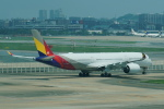 pringlesさんが、福岡空港で撮影したアシアナ航空 A350-941XWBの航空フォト(写真)