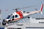 へりさんが、東京ヘリポートで撮影した朝日航洋 AS350B3 Ecureuilの航空フォト(写真)