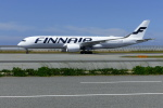 rokko2000さんが、関西国際空港で撮影したフィンエアー A350-941XWBの航空フォト(写真)
