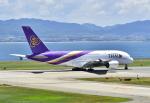 kix-boobyさんが、関西国際空港で撮影したタイ国際航空 A380-841の航空フォト(写真)