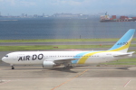 NISSY(NSY)さんが、羽田空港で撮影したAIR DO 767-33A/ERの航空フォト(写真)