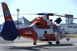 Nao0407さんが、松本空港で撮影した浜松市消防航空隊 AS365N3 Dauphin 2の航空フォト(飛行機 写真・画像)